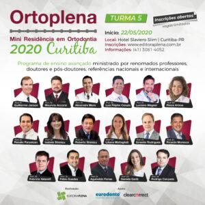 Ortoplena – Mini Residência em Ortodontia – Aulas teóricas e demonstrativas para especialista – Curitiba/PR 2020