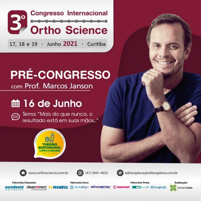 Pré-Congresso Orthoscience 2021
